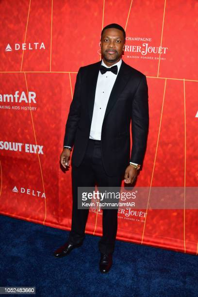 Chris Tucker attends the amfAR Gala Los Angeles 2018 at Wallis Annenberg Center for the Performing Arts on October 18 2018 in Beverly Hills California