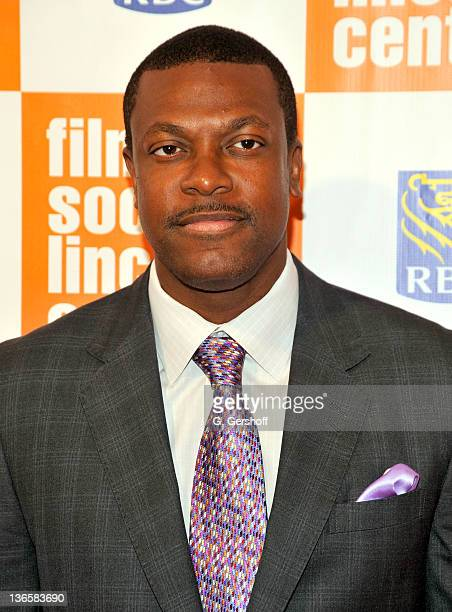 Chris Tucker attends The Film Society of Lincoln Center's presentation of the 38th Annual Chaplin Award at Alice Tully Hall on May 2 2011 in New York...