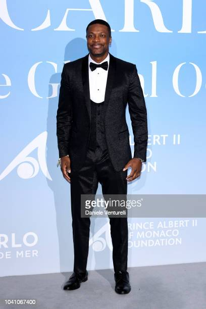 Chris Tucker attends the Gala for the Global Ocean hosted by HSH Prince Albert II of Monaco at Opera of MonteCarlo on September 26 2018 in MonteCarlo...