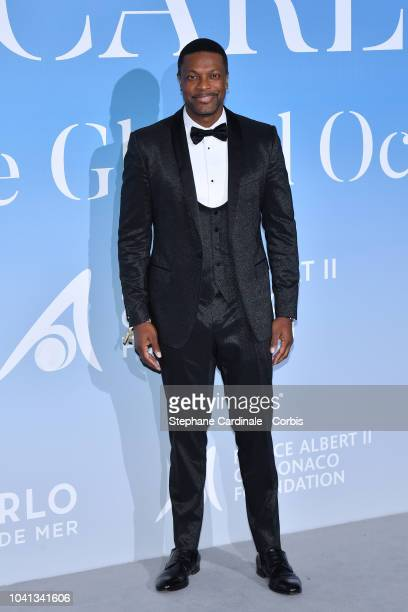 Chris Tucker attends the MonteCarlo Gala for the Global Ocean 2018 on September 26 2018 in MonteCarlo Monaco