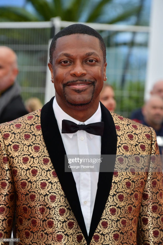Chris Tucker attends the screening of 'Blackkklansman' during the 71st annual Cannes Film Festival at Palais des Festivals on May 14, 2018 in Cannes, France.