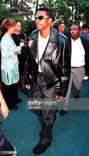 Chris Tucker during 1998 MTV Video Music Awards at Universal Amphitheatre in Los Angeles California United States