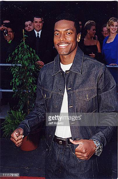 Chris Tucker during 1999 Blockbuster Awards in Los Angeles California United States