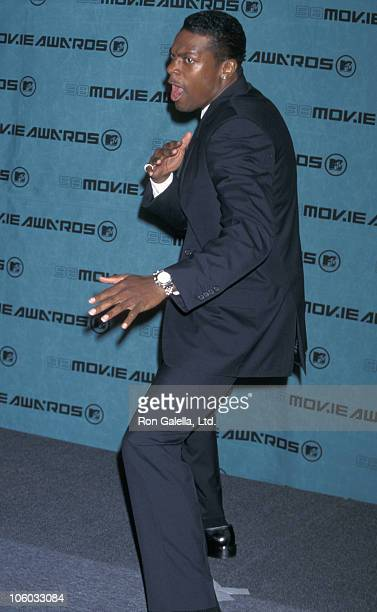 Chris Tucker during 7th Annual MTV Movie Awards at Santa Monica Barker Hanger in Santa Monica California United States