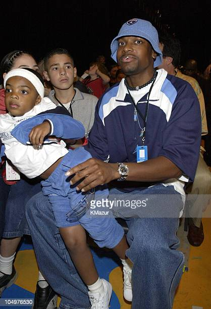 Chris Tucker during Nickelodeon's 15th Annual Kids Choice Awards Show at Barker Hangar in Santa Monica California United States