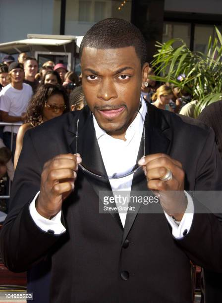Chris Tucker during The 2nd Annual BET Awards Arrivals at The Kodak Theater in Hollywood California United States