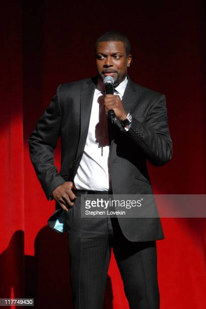 Chris Tucker during Third Annual Apollo Theater Fondation Inc Spring Benefit at The Apollo Theater in New York City New York United States
