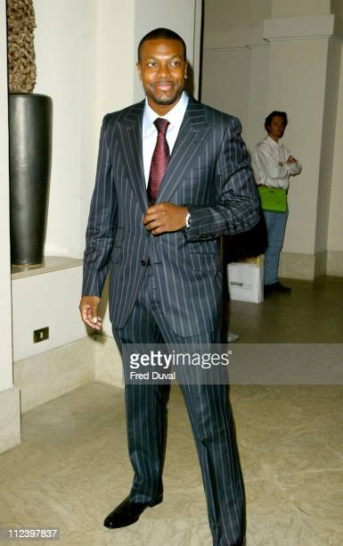 Chris Tucker during We Are The Future Party Inside at Hotel De Russie in Rome Italy
