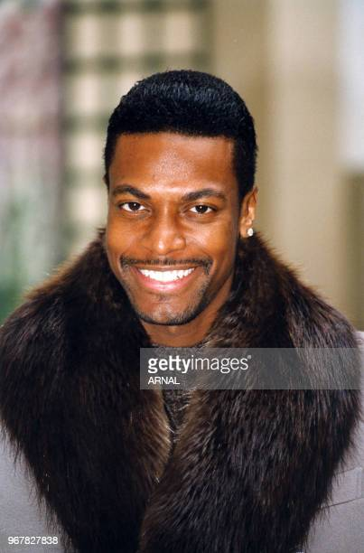 Chris Tucker lors de la promotion du film 'Rush Hour' à Paris le 24 novembre 1998 France