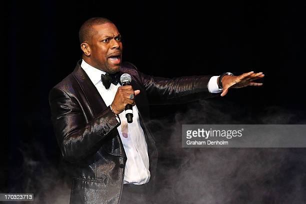 Chris Tucker performs on stage at the Plenary on June 11 2013 in Melbourne Australia