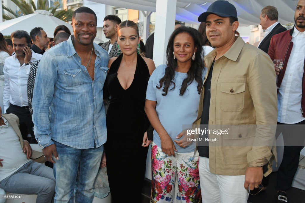 Chris Tucker Rita Ora Isabel Dos Santos And Sindika Dokolo Pose In News Photo Getty Images