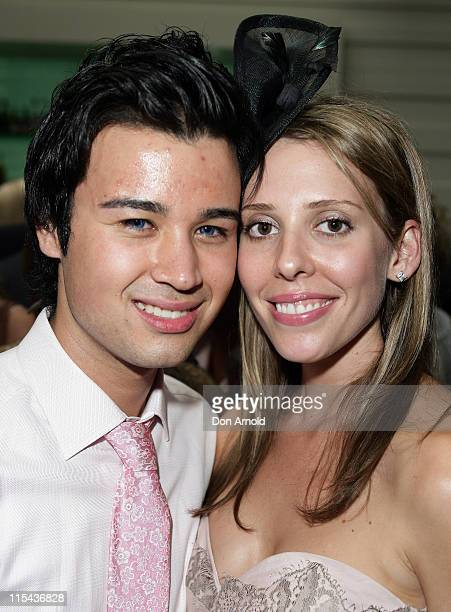 Chris Urankar and Kate Coghlan attends the Kate Waterhouse Melbourne Cup Party at the Zeta Bar at The Hilton Hotel on November 6 2007 in Sydney...