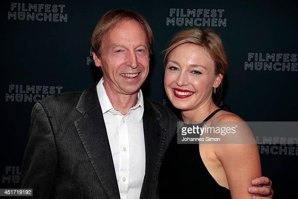 Chris van Kampen and Juliet Rylance attend the 'Days And Nights' premiere as part of Filmfest Muenchen 2014 at City 1 on July 4 2014 in Munich Germany