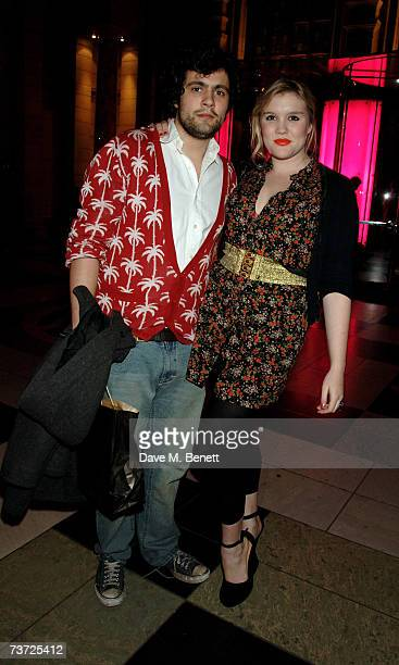 Chris Vernon and Coco Fennell attend the press view of 'Surreal Things Surrealism And Design' at the Victoria Albert Museum on March 27 2007 in...