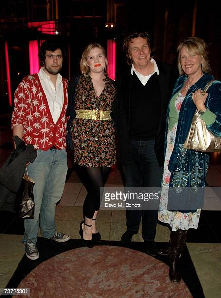 Chris Vernon Coco Theo and Louise Fennell attend the press view of 'Surreal Things Surrealism And Design' at the Victoria Albert Museum on March 27...