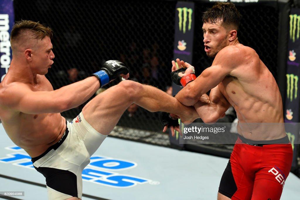 UFC Fight Night: Perez v Wade : News Photo