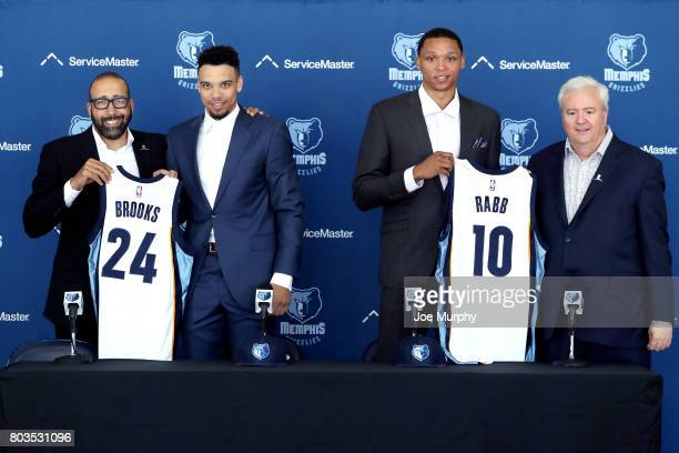 Chris Wallace and David Fizdale of the Memphis Grizzlies introduces Ivan Rabb and Dilllon Brooks as the newest members of the Memphis Grizzlies on...