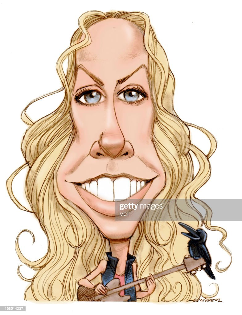 Caricature Sheryl Crow Pictures Getty Images