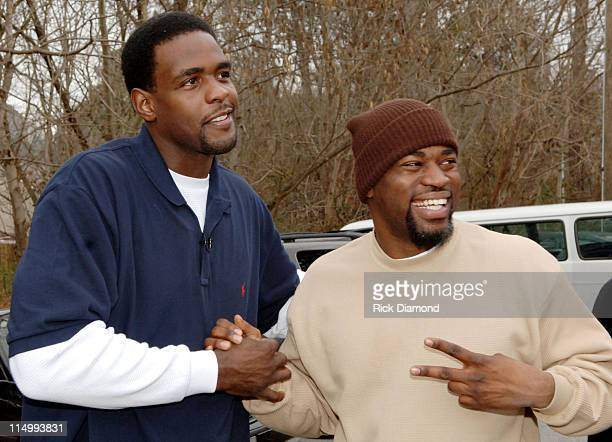 Chris Webber and David Banner during LudaChrisMiss in DeKalb County Ludacris Chris Webber and David Banner give kids a Merry Christmas at Gresham...
