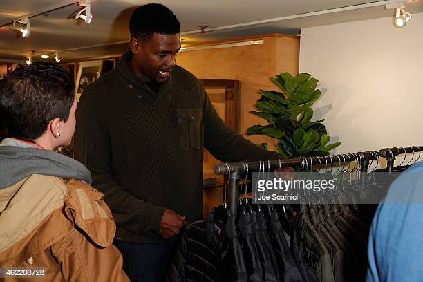 Chris Webber attends The Variety Studio At Sundance Presented By Dockers on January 25 2015 in Park City Utah