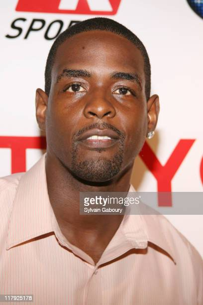 Chris Webber during Toyota Revs up the NBA Draft at The 40/40 Club in New York NY United States