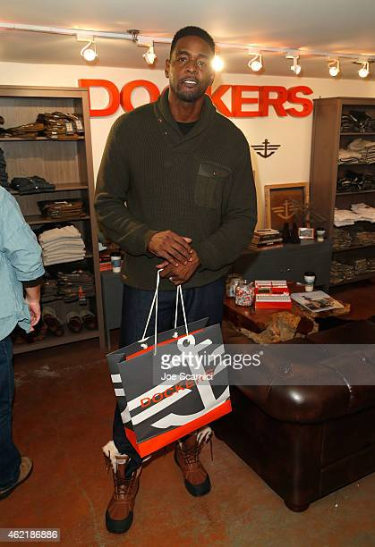 Chris Weber attends The Variety Studio At Sundance Presented By Dockers on January 25 2015 in Park City Utah