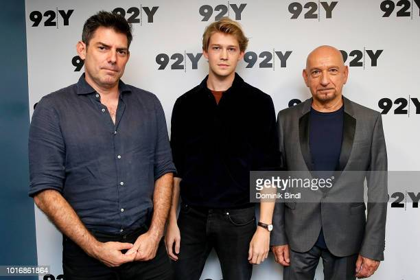 Chris Weitz Joe Alywyn and Sir Ben Kingsley at the 92Y/FOLCS event Operation Finale with Sir Ben Kingsley Joe Alywyn and Chris Weitz moderated by...