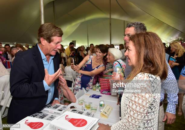 Chris Whipple attends Authors Night 2017 At The East Hampton Library at The East Hampton Library on August 12 2017 in East Hampton New York