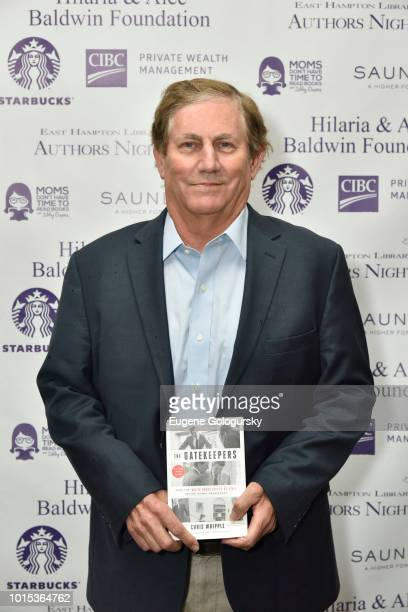 Chris Whipple attends Authors Night At East Hampton Library on August 11 2018 in East Hampton New York