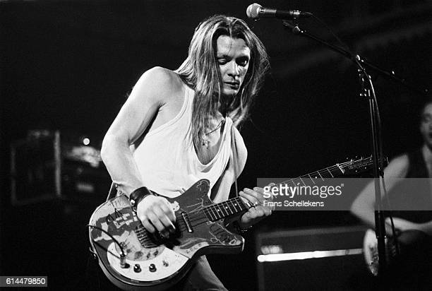 Chris Whitley, vocals and guitar, performs at the Paradiso on February 19th 1992 in Amsterdam, Netherlands