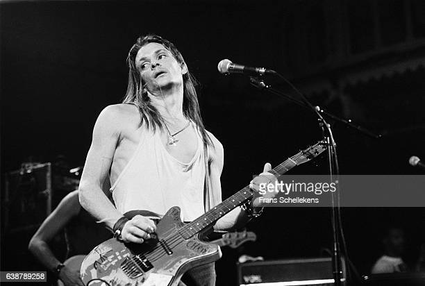Chris Whitley, vocals and guitar, performs at the Paradiso on February 19th 1992 in Amsterdam, Netherlands.