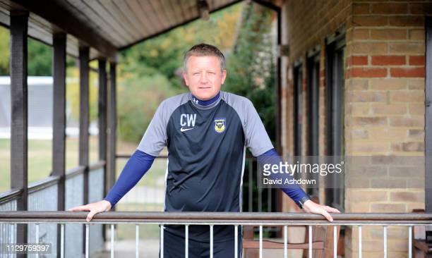Chris Wilder Manager of Oxford Utd FC 1/10/09