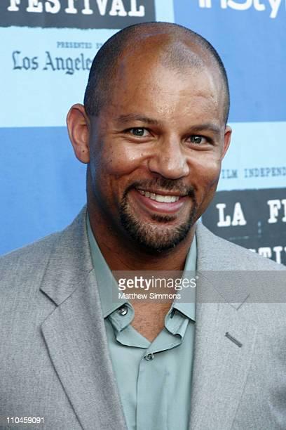 Chris Williams during 2006 Los Angeles Film Festival Swedish Auto Screening at Crest Theatre in Los Angeles California United States