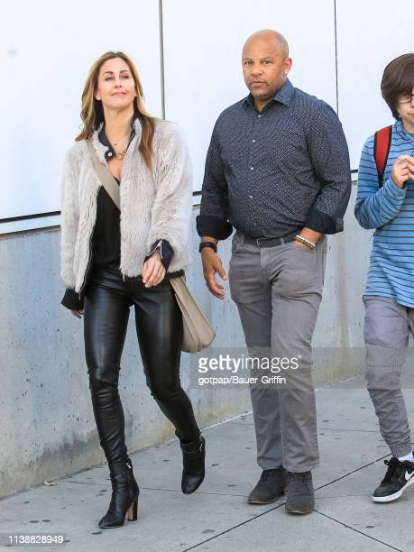 Chris Williams is seen on April 22 2019 in Los Angeles California