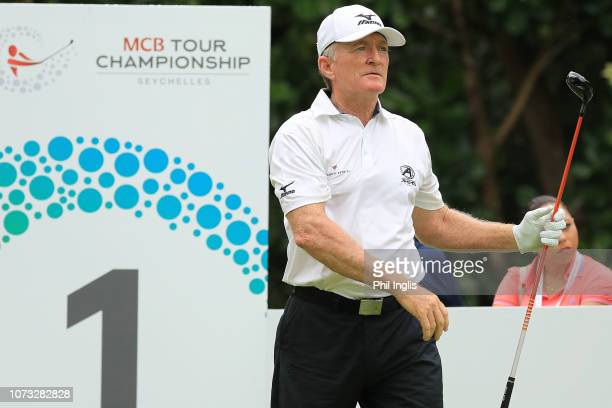 Chris Williams of South Africa during Day One of the MCB Tour Championship at Constance Lemuria on December 14 2018 in Praslin Island Seychelles