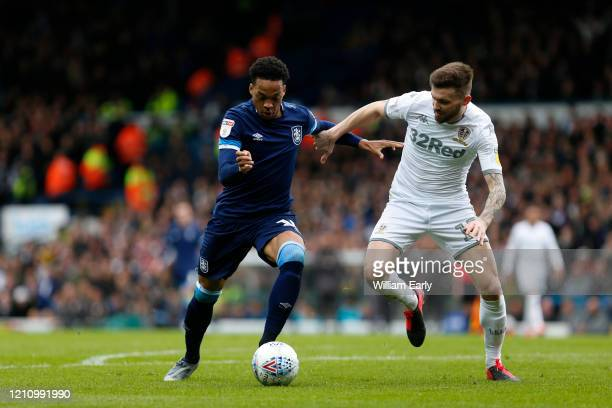 Chris Willock of Huddersfield Town during the Sky Bet Championship match between Leeds United and Huddersfield Town at Elland Road on March 07 2020...