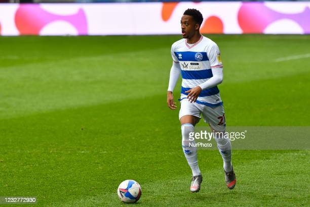 Chris Willock of QPR in action during the Sky Bet Championship match between Queens Park Rangers and Luton Town at Loftus Road Stadium, London on...