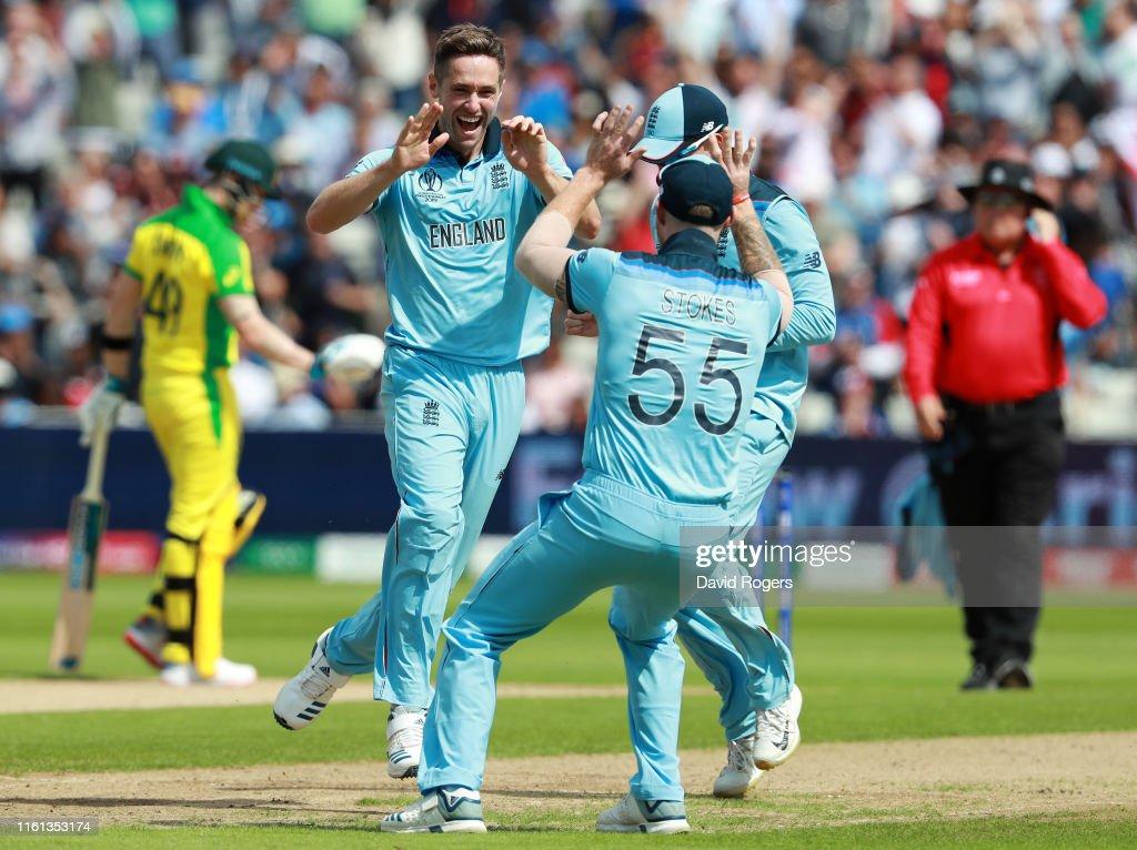 Australia v England - ICC Cricket World Cup 2019 Semi-Final : News Photo