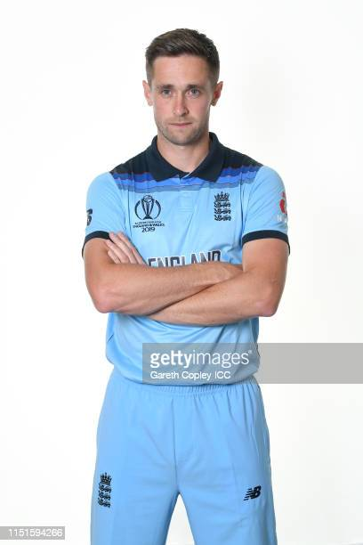 Chris Woakes of England poses for a portrait prior to the ICC Cricket World Cup 2019 at Ageas Bowl on May 24 2019 in Southampton England