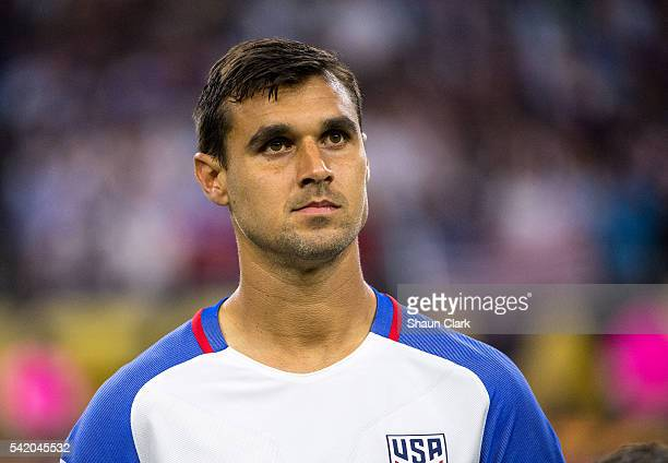 Chris Wondolowski of United States prior to the Copa America Centenario Semifinal match between United States and Argentina at NRG Stadium on June 21...