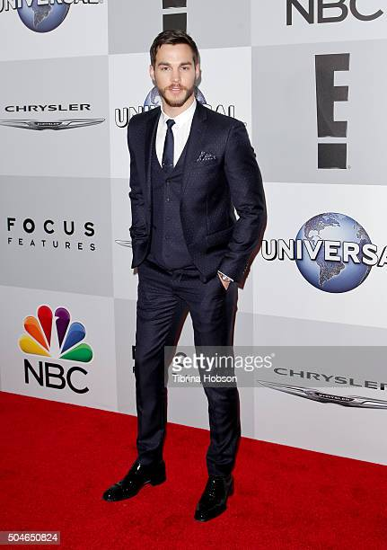 Chris Wood attends NBCUniversal's 73rd Annual Golden Globes After Party at The Beverly Hilton Hotel on January 10 2016 in Beverly Hills California