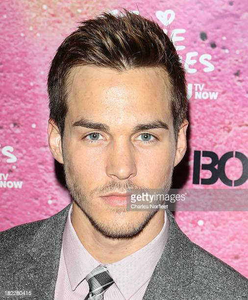 Chris Wood attends The Carrie Diaries Season Two Premiere Party hosted By Bongo September 28 2013 in New York United States
