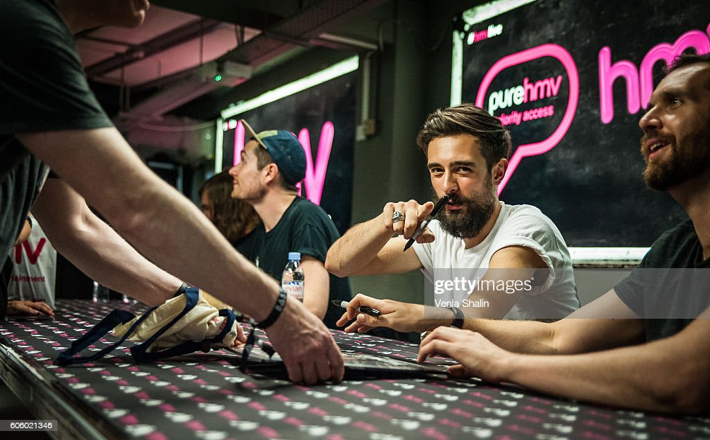 Bastille Perform & Meet Fans At HMV Oxford Street