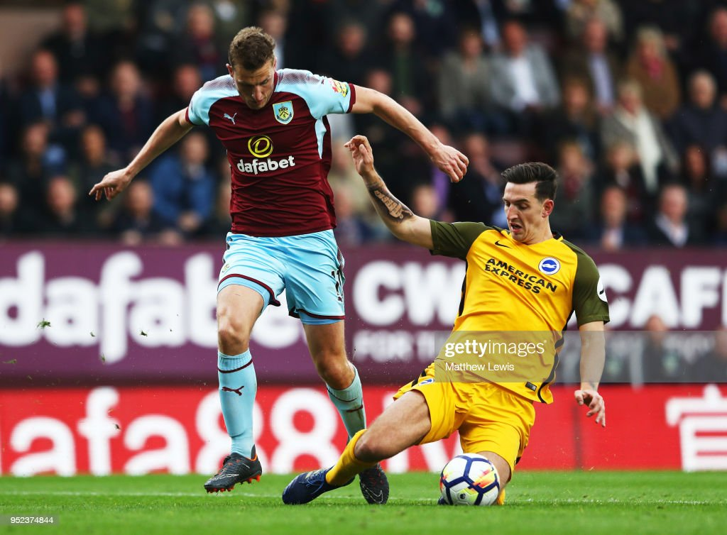 Burnley v Brighton and Hove Albion - Premier League : News Photo