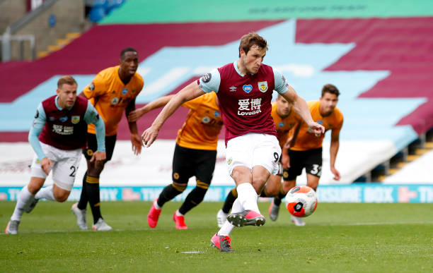 GBR: Burnley FC v Wolverhampton Wanderers - Premier League