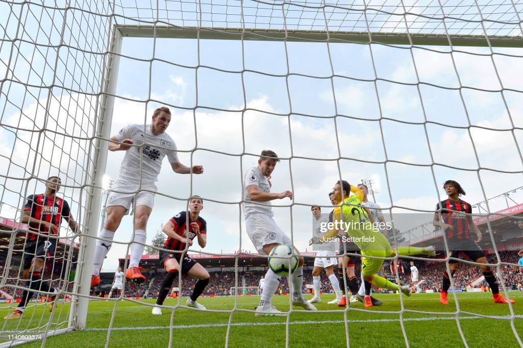 GBR: AFC Bournemouth v Burnley FC - Premier League