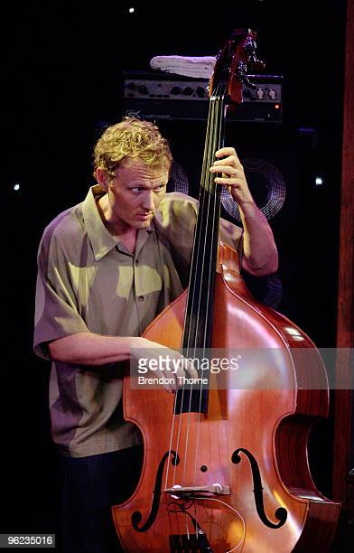 Chris Wood of jazz and groove outfit Medeski Martin Wood make their Australian debut as part of the Sydney Festival 2010 at the Spiegeltent on...