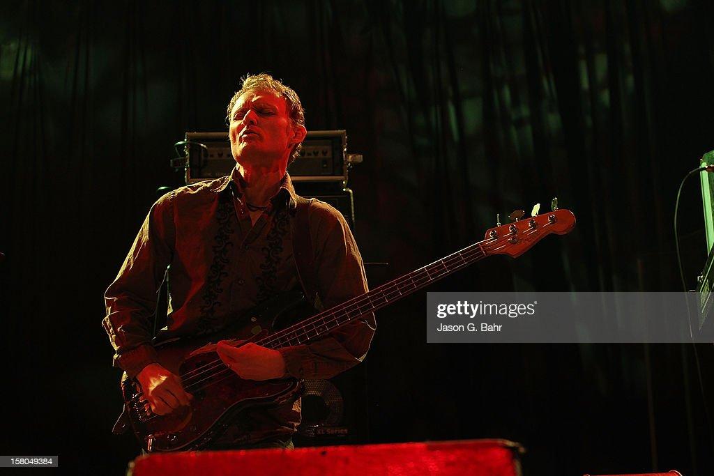 Chris Wood of Madeski Scofield Martin & Wood performs at Ogden Theatre on December 7, 2012 in Denver, Colorado.