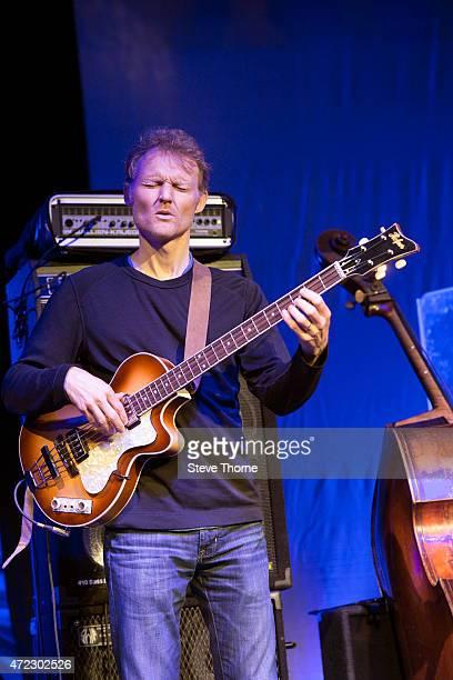 Chris Wood of Medeski Martin Wood performs at the Cheltenham Jazz Festival on May 3 2015 in Cheltenham United Kingdom