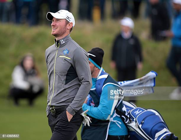Chris Woods during The British Masters 2016 supported by SkySports Round One at The Grove Golf Course on October 13, 2016 in Watford, England.